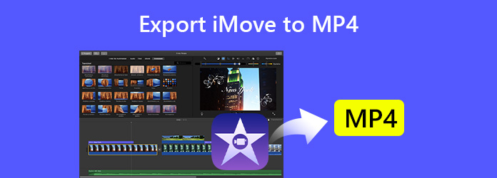 Exportujte iMovie do MP4
