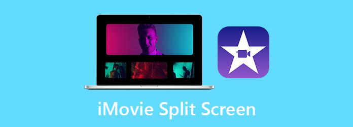 شاشة انقسام iMovie