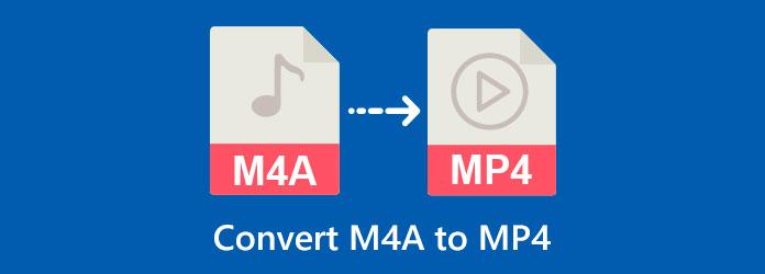 M4A a MP4