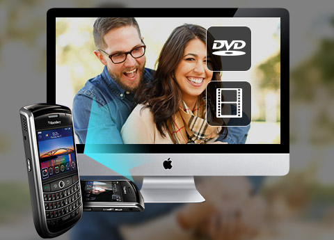 Rip eller konverter video til BlackBerry på Mac