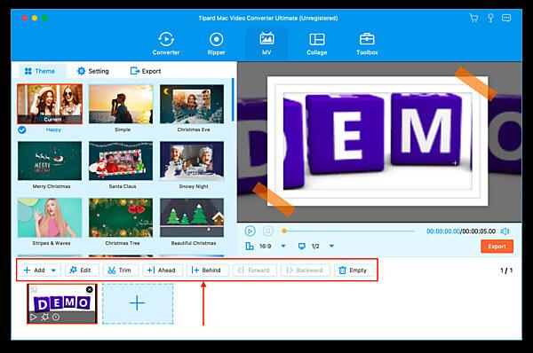 Upravte video pomocí Movie Maker
