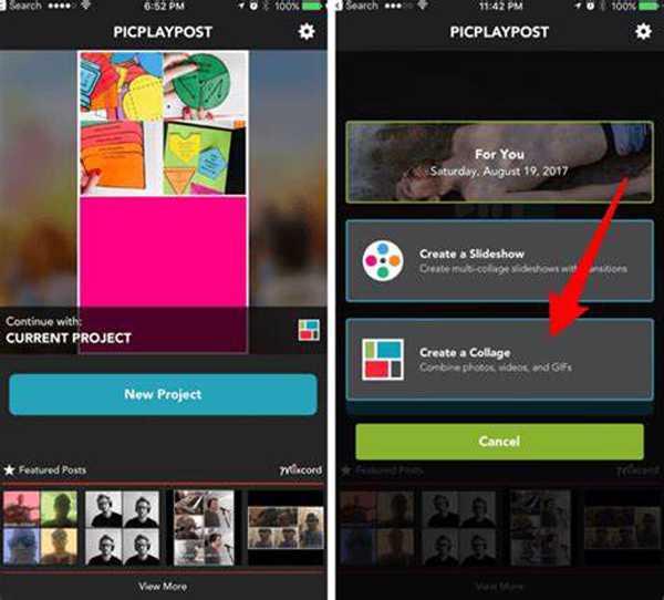 Vytvořte SPlit Screen Video pro Android