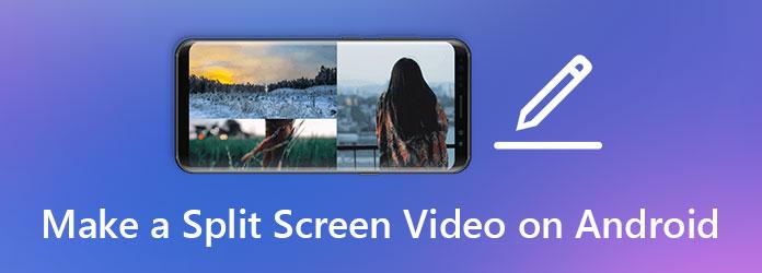 Vytvořte video na rozdělené obrazovce pro Android