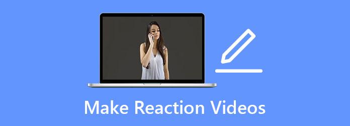 Maak reactievideo's