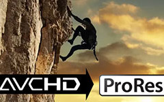 Convert avchd/mts/m2ts to prores