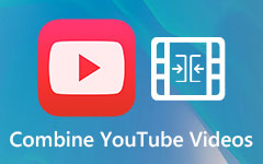 اجمع بين مقاطع فيديو متعددة على YouTube