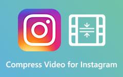 Komprimujte videa pro Instagram