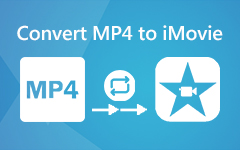 استيراد MP4 إلى iMovie