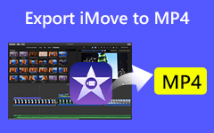 xport iMovie MP4: ään