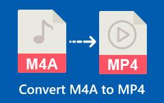M4A til MP4