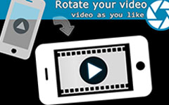 تدوير الفيديو لجهاز iPhone