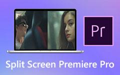 مقاطع فيديو منقسمة الشاشة باستخدام Adobe Premiere Pro