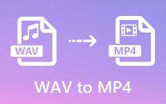 Převést zvukové soubory WAV na MP4