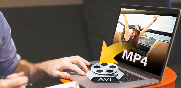 MP4 to AVI on Mac