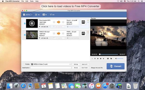Convertisseur MP4 gratuit