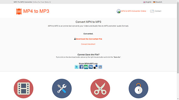 mp4 para mp3 on-line