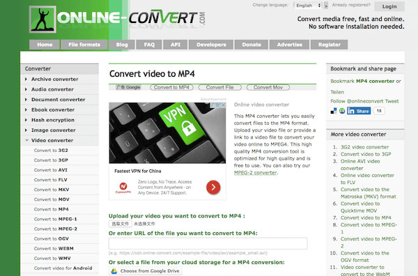 Conversão Online