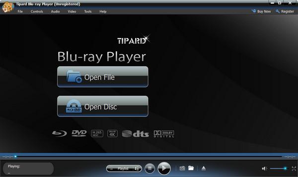Tipard Blu-ray přehrávač