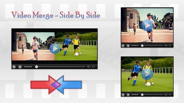 دمج الفيديو Android