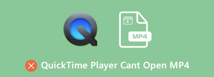 Quicktime-pelaajat eivät voi avata MP4: tä