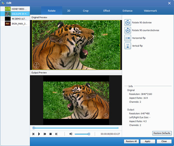 how to flip a video in windows media play