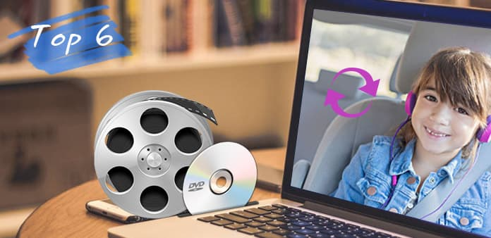 Topp 6 DVD och Video Converter Recensioner Mac