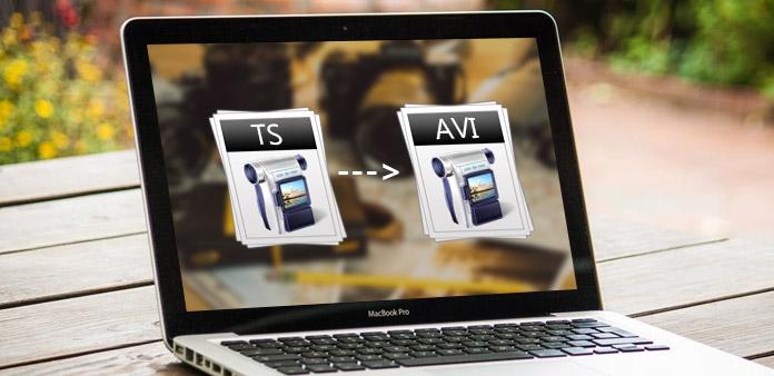 تحويل TS لنظام Mac لتحويل TS إلى AVI لنظام التشغيل Mac