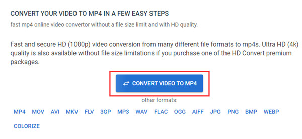 Převést video do formátu MP4