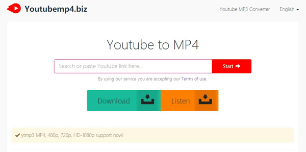 Youtube til MP4