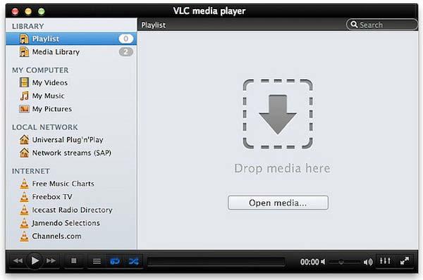 VLC لنظام التشغيل Mac