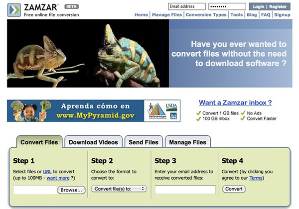 Best websites to download youtube videos for free zamzar is easy to use but powerful which can download videos from youtube metacafe dailymotion and so on as a professional youtube downloader service ccuart Images