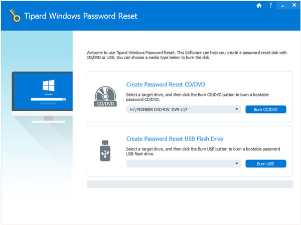 Windows Password Reset – Reset Windows 7/8/Vista/XP password