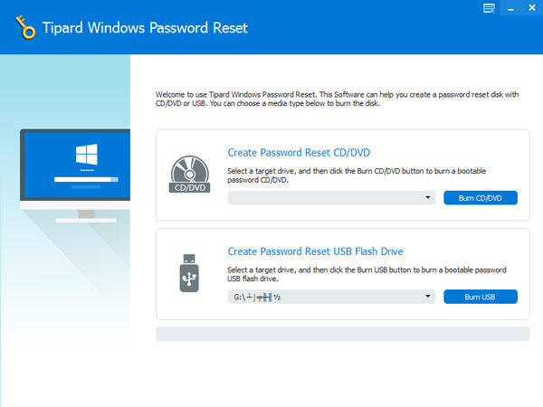 Windows 7 Tipard Windows Password Reset 1.0.12 full