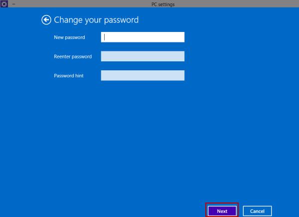 Změnit heslo