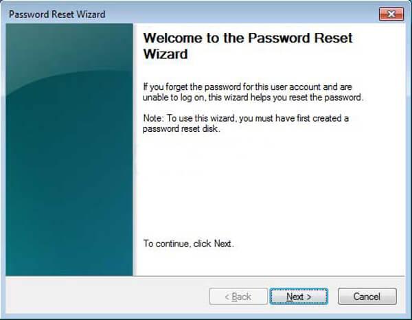 Průvodce resetováním hesla
