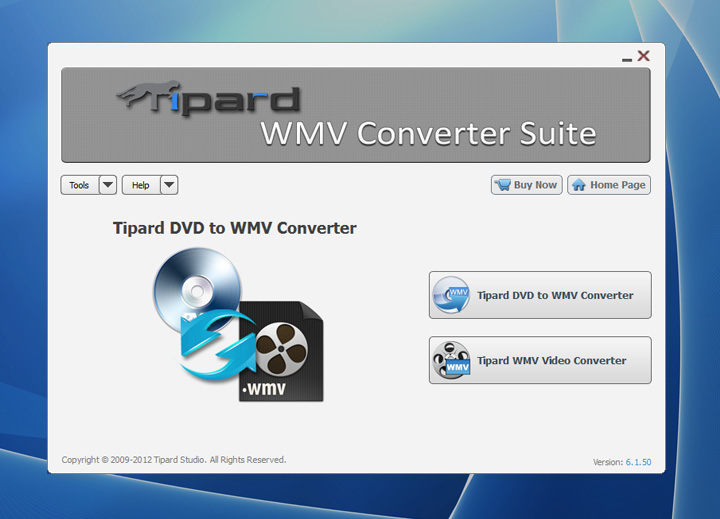 Click to view Tipard WMV Converter Suite screenshots