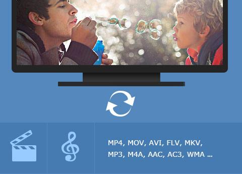 قم بتحويل الفيديوهات المحلية إلى صيغ الفيديو والصوت الشائعة