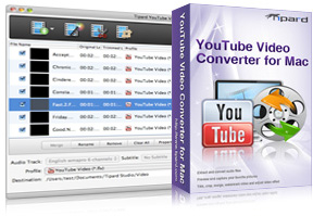 YouTube Video Converter for Mac Screen