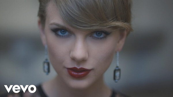 Espaço em branco de Taylor Swift