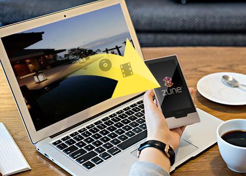 ضع الفيديو على Zune و Zune 2 Mac