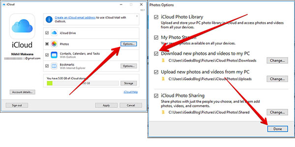 how to download videos and photos from icloud to computer